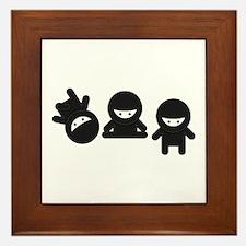 Like a Ninja Framed Tile