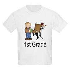 Cute First Grade Cartoon T-Shirt