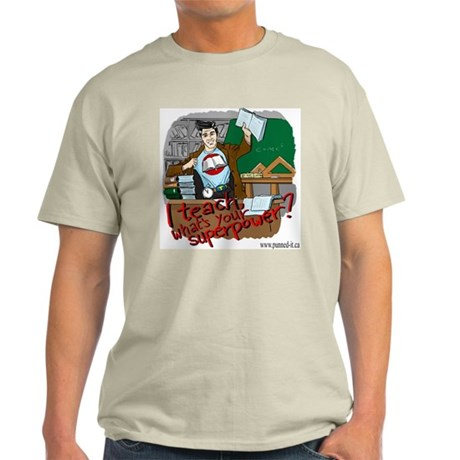 Male Teacher Image Light T-Shirt