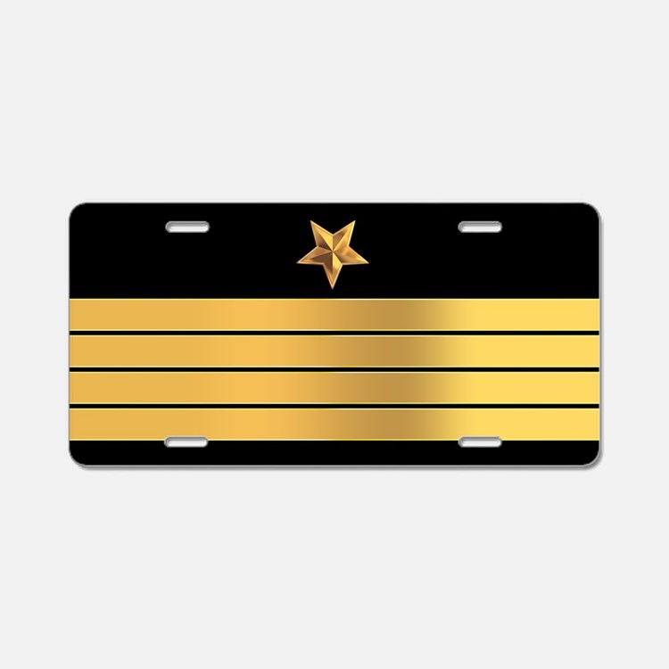 Navy Captain License Plate