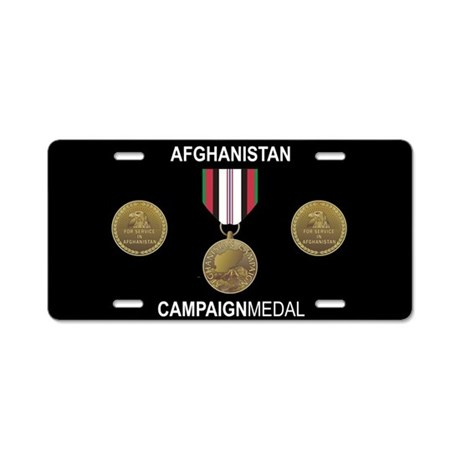 Afghanistan Campaign Medal License Plate