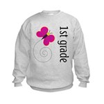 Cute 1st or First Grade Kids Sweatshirt