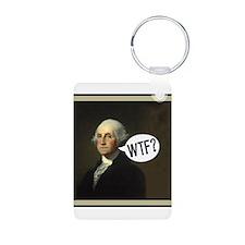 George WTF Keychains