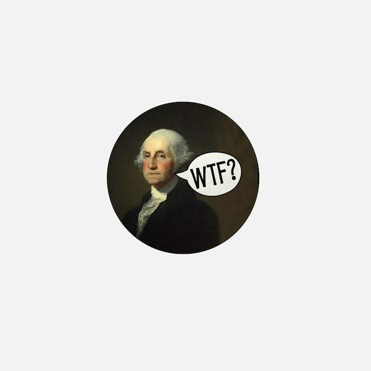 George WTF Mini Button