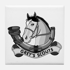 Grey's Scouts Tile Coaster