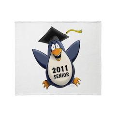 Class of 2011 Penguin Throw Blanket