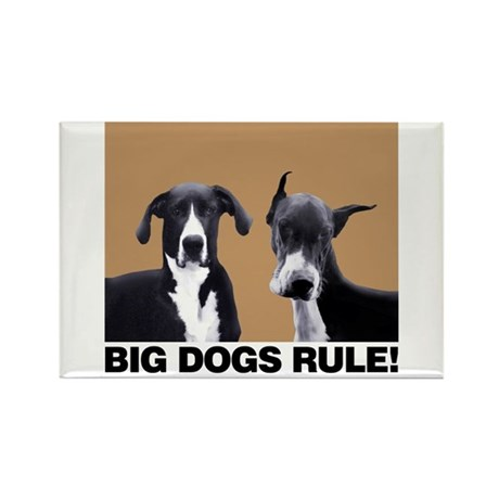 Great Big Dogs! Rectangle Magnet