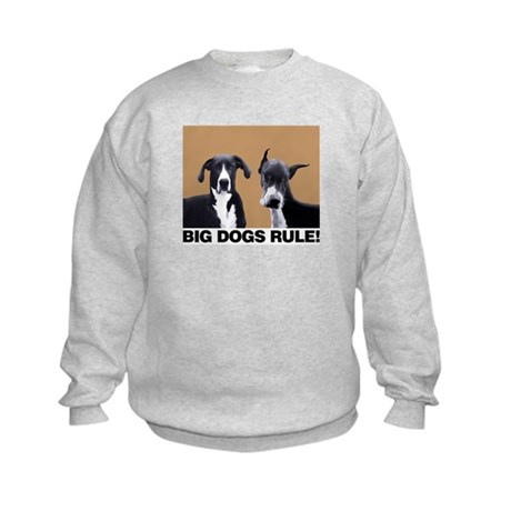 Great Big Dogs! Kids Sweatshirt
