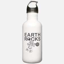 """Earth Rocks"" Water Bottle"