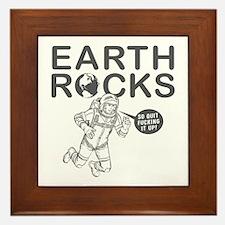 """""""Earth Rocks"""" Framed Tile"""