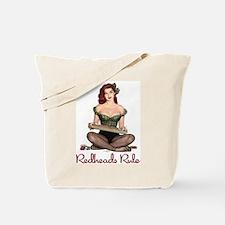 Redheads Rule Tote Bag