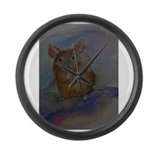 Mouse, Cute, Fun, Large Wall Clock