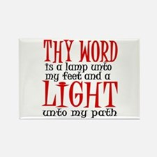 Psalm 119:105 Rectangle Magnet