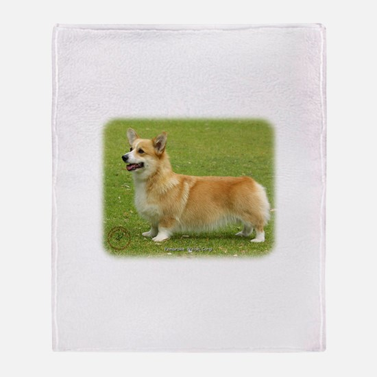 Welsh Corgi Pembroke 9F095D-04 Throw Blanket