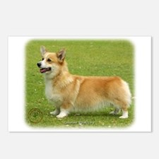 Welsh Corgi Pembroke 9F095D-04 Postcards (Package