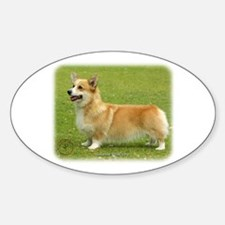 Welsh Corgi Pembroke 9F095D-04 Sticker (Oval)