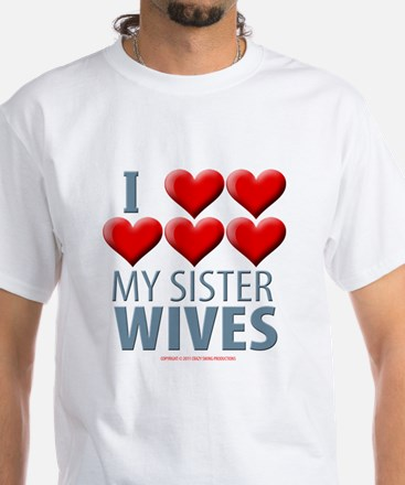 Sister Wives White T-Shirt