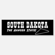 South Dakota - The Hanger State Bumper Bumper Bumper Sticker