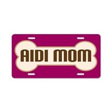 Aidi Mom Pet Lover License Plate Dog Gift