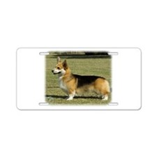 Welsh Corgi Pembroke 9R022-067 Aluminum License Pl