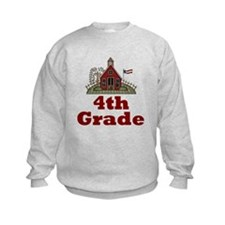 Fourth Grade Schoolhouse Sweatshirt