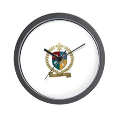 TALBOT Family Crest Wall Clock