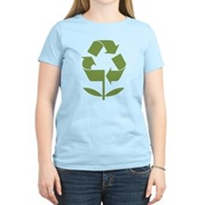 Recycle Flower T-Shirt
