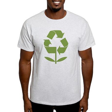 Recycle Flower Light T-Shirt