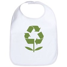 Recycle Flower Bib