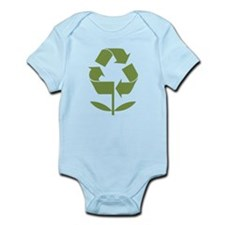 Recycle Flower Infant Bodysuit