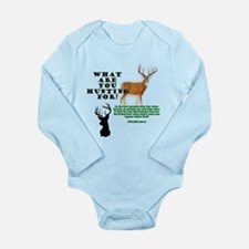 As the Deer Long Sleeve Infant Bodysuit