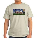 Starry / 2 Affenpinschers Light T-Shirt