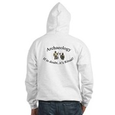 Cute Funny archaeologist Hoodie