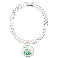 Earth Day Birthday April 22nd Bracelet