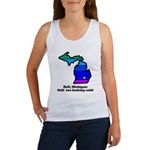 Say Yes To Michigan and The M Women's Tank Top