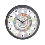 GRAFFITI SERIES:  Graffiti Wall Clock