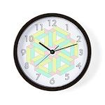CHILDREN'S SERIES:  Pastel Wall Clock