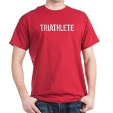 Triathlete - white T-Shirt