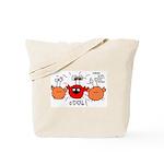 Crabster Tote Bag