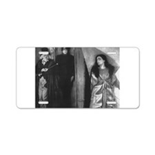 The Cabinet of Dr. Caligari Aluminum License Plate