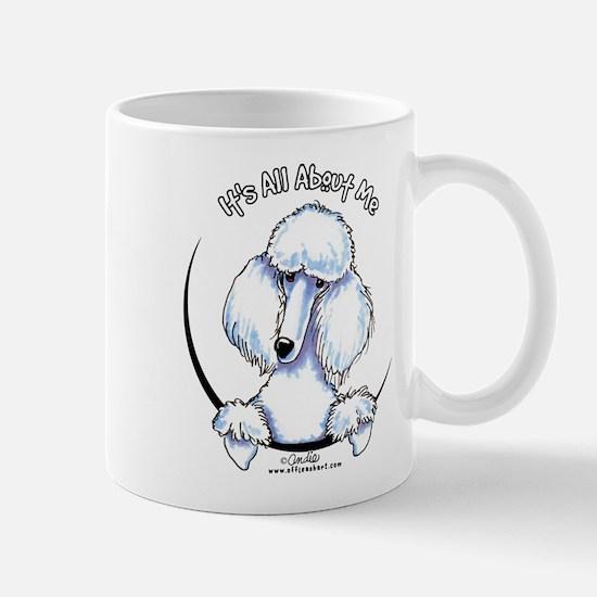 White Standard Poodle IAAM Mug