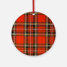 Tartan Pride Ornament (Round)