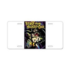 Beast From Haunted Cave Aluminum License Plate