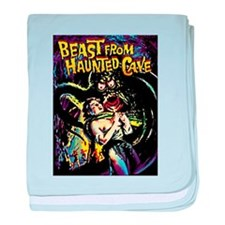 Beast From Haunted Cave baby blanket
