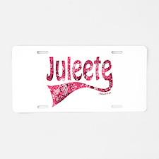 JULEETE Aluminum License Plate