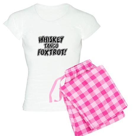 Whiskey Tango Foxtrot Women's Light Pajamas