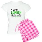 I Wear Green SCT Survivor Women's Light Pajamas