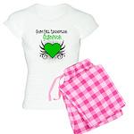 SCT Survivor Grunge Heart Women's Light Pajamas