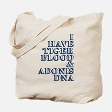 Tigers Blood Sheen Tote Bag