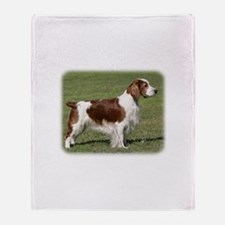 Welsh Springer Spaniel 9Y394D-041 Throw Blanket